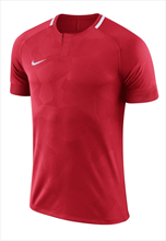 Nike shirt Challenge II ss jersey rood/wit
