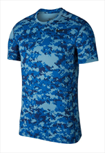 Nike Trainingsshirt Baselayer Top SS blau/dunkelblau