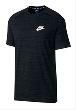 Nike Shirt Advance 15 SS Top Knit schwarz/weiß