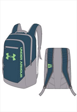 Under Armour Rucksack Hustle Backpack blaugrün/grau