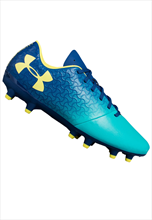 Under Armour Kinder Fußballschuh JR Magnetico Select FG türkis/dunkelblau