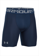 Under Armour Funktionsshort HeatGear Armour 2.0 Comp Short dunkelblau/grau