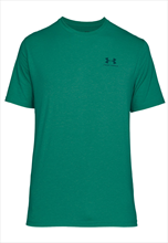 Under Armour Shirt Sportstyle Left Chest Lockup grün/blau