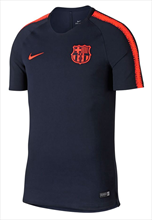 Nike FC Barcelona Trainingsshirt Squad Top dunkelblau/orange