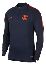 Nike FC Barcelona Trainingsoberteil Squad Drill Top dunkelblau/orange