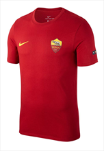 Nike AS Roma Fanshirt Tee Crest rot/gelb