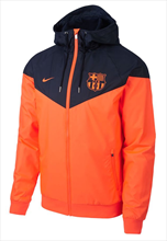 Nike FC Barcelona Fanjacke Authentic Windrunner orange/dunkelblau