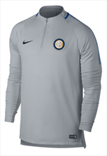 Nike Inter Mailand Trainingsoberteil Squad Drill Top hellgrau/blau