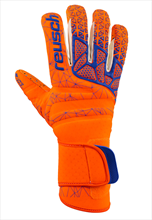 Reusch Torwarthandschuhe Pure Contact G3 Fusion orange/blau