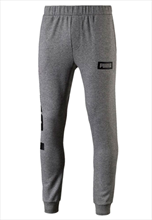 Puma Trainingshose Rebel Sweat Pants TR grau/schwarz