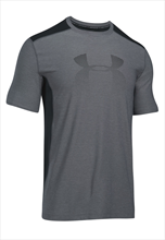 Under Armour Shirt Raid Graphic SS grau/schwarz