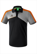 Erima Polo Funktionsshirt Premium ONE 2.0 schwarz/orange fluo