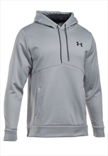 Under Armour Kapuzenpullover Icon Solid AF Fleece Hoody grau/schwarz