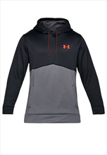 Under Armour Kapuzenpullover Icon Solid AF Fleece Hoody schwarz/silber