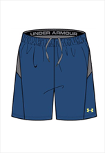 Under Armour Short Challenger II Knit blau/grau