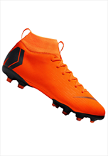 Nike Kinder Fußballschuh Mercurial Superfly VI JR Academy GS FG/MG orange/schwarz