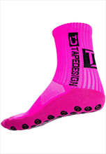 TapeDesign Socken Anti-Slip Socks TD pink fluo/schwarz