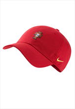Nike Portugal Kappe Heritage 86 Cap Core rot/gelb