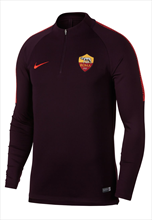 Nike AS Roma Trainingsoberteil Squad Drill Top dunkelrot/orange