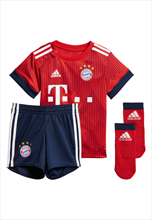 Adidas FC Bayern München baby thuisset Mini Kit 2018/19 rood/wit