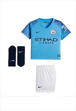 Nike Manchester City Mini Kit baby 2018/19 lichtblauw/blauw