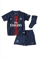 Nike Paris St. Germain Baby Heim Mini Kit 2018/19 dunkelblau/rot