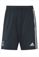 adidas Real Madrid Trainingsshort dunkelblau/weiß