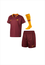 Nike AS Roma baby thuisset Mini Kit 2018/19 rood/geel