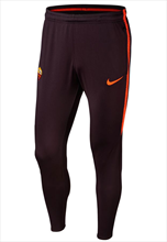 Nike AS Roma Trainingshose Squad Pant dunkelrot/orange