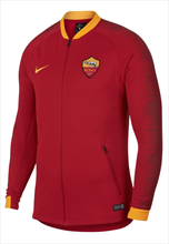 Nike AS Roma Fanjacke Anthem rot/gelb