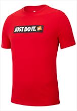 "Nike Shirt Sportswear ""Just do It"" rot/weiß"