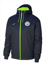 Nike Manchester City Fanjacke Authentic Windrunner dunkelblau/gelb fluo