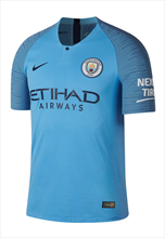 Nike Manchester City heren thuisshirt Authentiek 2018/19 lichtblauw/blauw