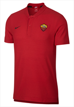 Nike AS Roma Grand Slam Polo authentiek rood/geel