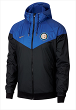 Nike Inter Mailand Fanjacke Authentic Windrunner schwarz/blau