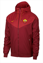 Nike AS Roma  fanjas authentieke windrunner donkerrood/rood
