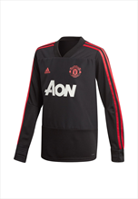 adidas Manchester United Kinder Trainingsoberteil Top schwarz/rot