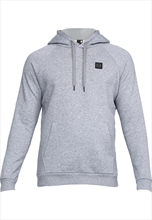 Under Armour Kapuzenpullover Rival Fleece Hoody grau/schwarz