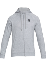 Under Armour Kapuzenjacke Rival Fleece Hoody grau/schwarz