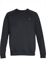 Under Armour Trainingspullover Rival Fleece Crew schwarz/weiß