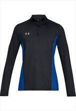 Under Armour Trainingspullover Challenger II Midlayer schwarz/blau