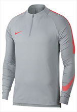 Nike Trainingsoberteil Squad Drill Top hellgrau/rot