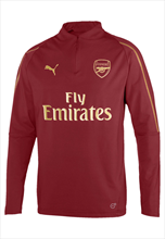 Puma FC Arsenal 1/4 Trainings Top dunkelrot