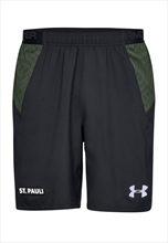Under Armour FC St. Pauli Trainingsshort schwarz/weiß