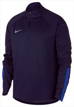 Nike Trainingsoberteil Shield Squad Drill Top dunkelblau/blau