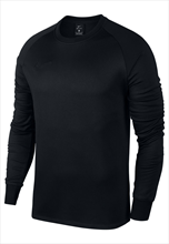Nike Trainingspullover Therma Academy Crew Top schwarz