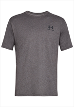Under Armour Trainingsshirt Sportstyle Left Chest SS grau/schwarz