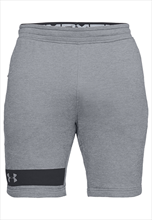 Under Armour Short Terry MK-1 grau/schwarz