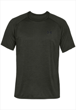Under Armour Trainingsshirt Tech SS Tee 2.0 anthrazit/schwarz