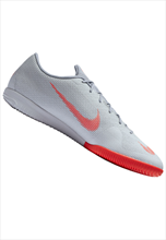 Nike Hallenschuh Mercurial VaporX XII Academy IC grau/rot